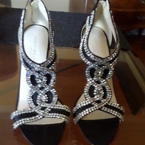Karen miller high heels shoes. size 38.5  81/2 usa